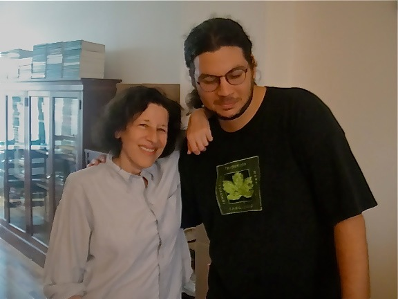 Adam Thometz & Fran Lebowitz