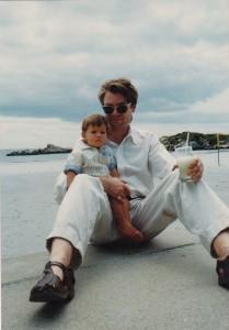 Baby Adam & Kurt at Alan Pryce Jones' house