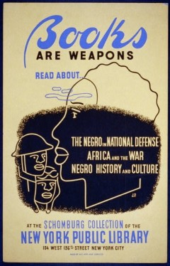 Books Are Weapons poster (1941-3)