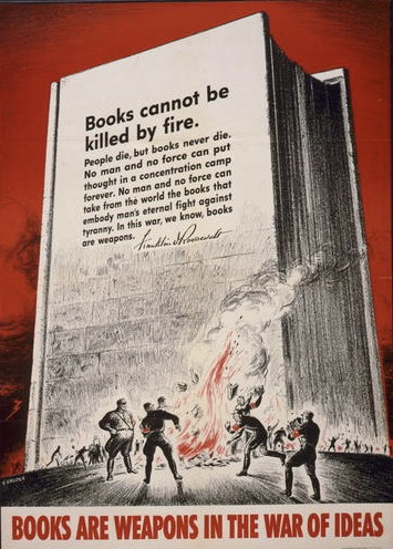 Books cannot be killed by fire