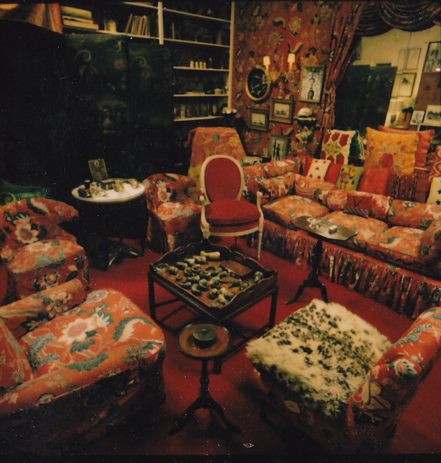 "Diana Vreeland's ""Garden in Hell"" Library Interior"