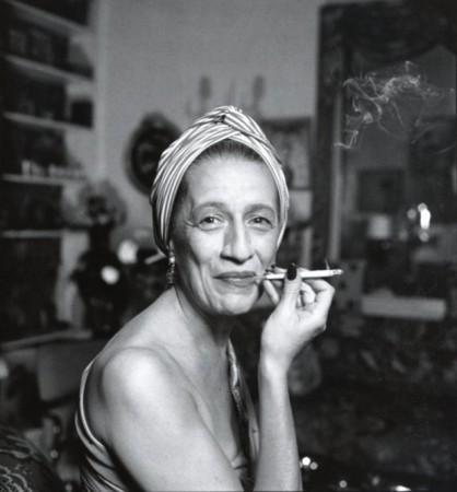 Photo of Diana Vreeland by Richard Avedon