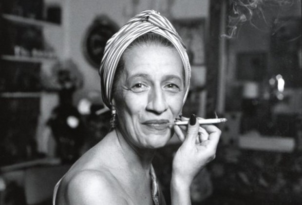 Photo of Diana Vreeland by Richard Avedon