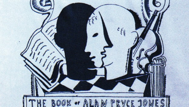 Alan Pryce-Jones's bookplate