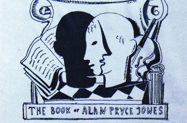 Alan Pryce-Jones's bookplate